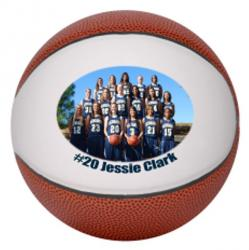 Mini Photo Personalized Basketball