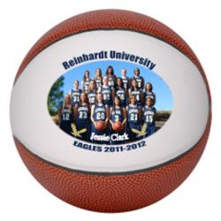 Mini Photo Plus Personalized Basketball